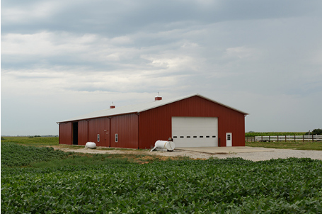 Machine Sheds, Barns, Cattle and Livestock barns and more.