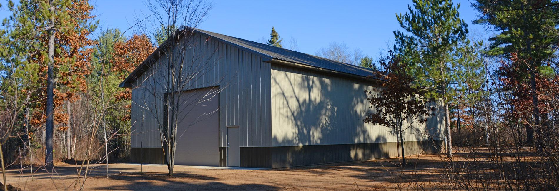 Pole Barn Garages, Sheds and workshops