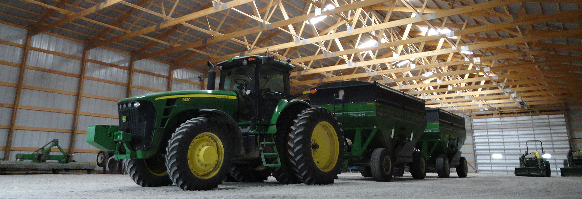 Ag Buildings and Pole Barns. Machine sheds, workshops, barns, livestock buildings, and more