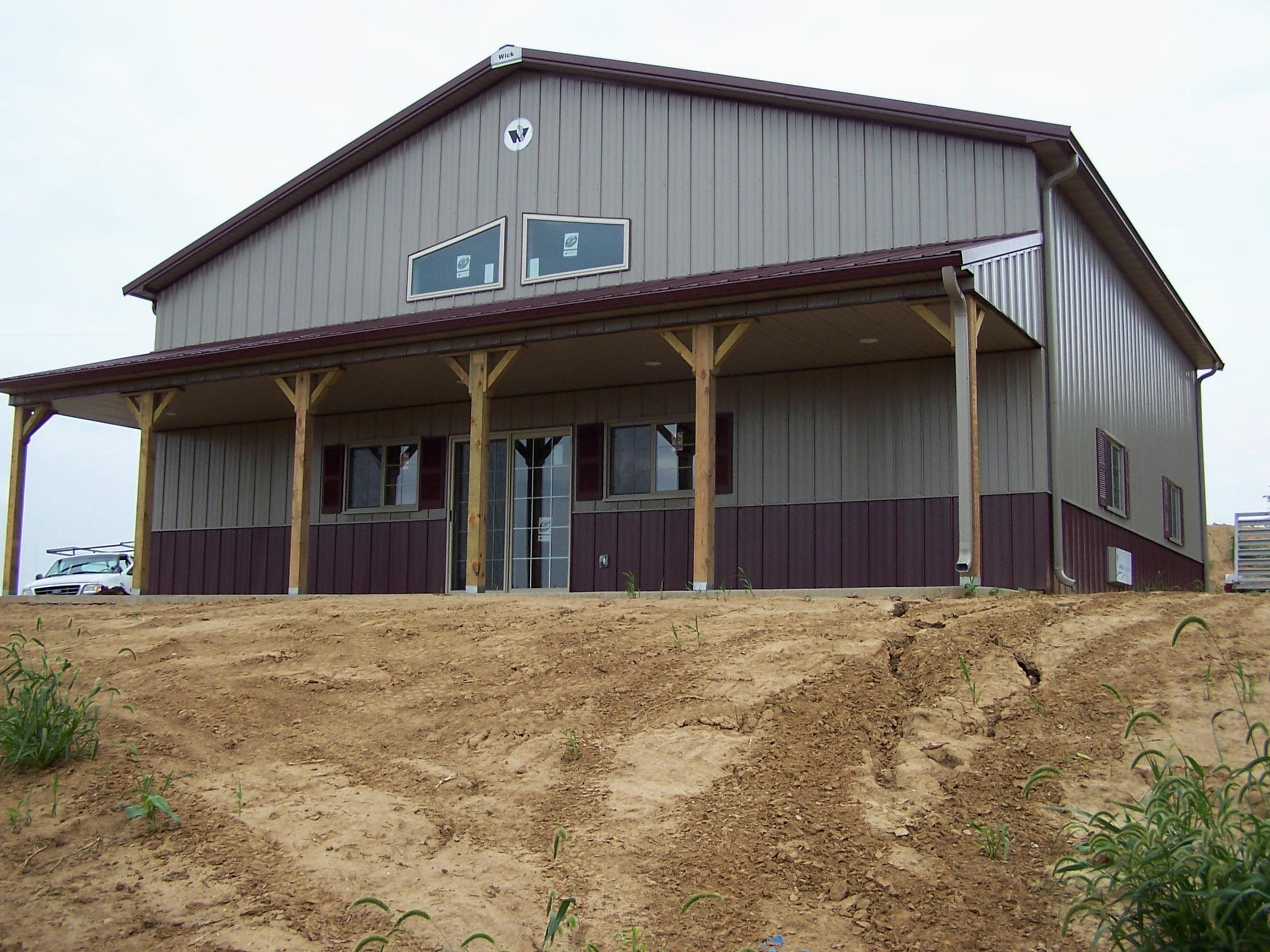 Pole Barn Sheds, Garages, and workshops