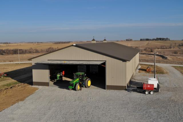 Machine shed Design and Construction Services